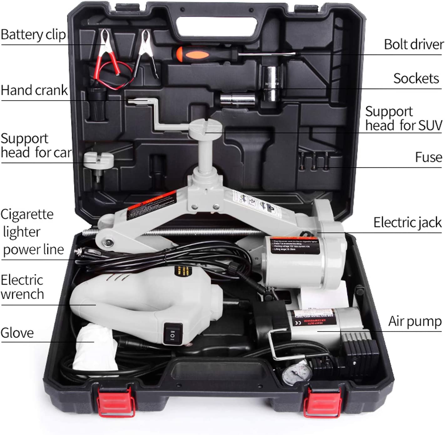 STANDTALL Electric Car Floor Jack