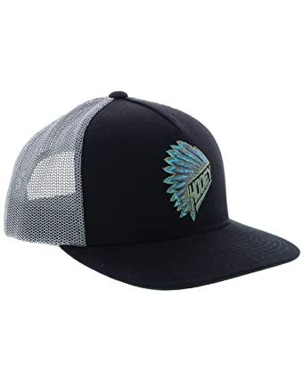 quality design f01c4 92d63 Image Unavailable. Image not available for. Color  HOOey Brand Quanah  Black Grey Snapback Hat ...