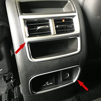 4PCS ABS Interior Door Armrest Storage Box Trim For Cadillac XT5 2016-2018