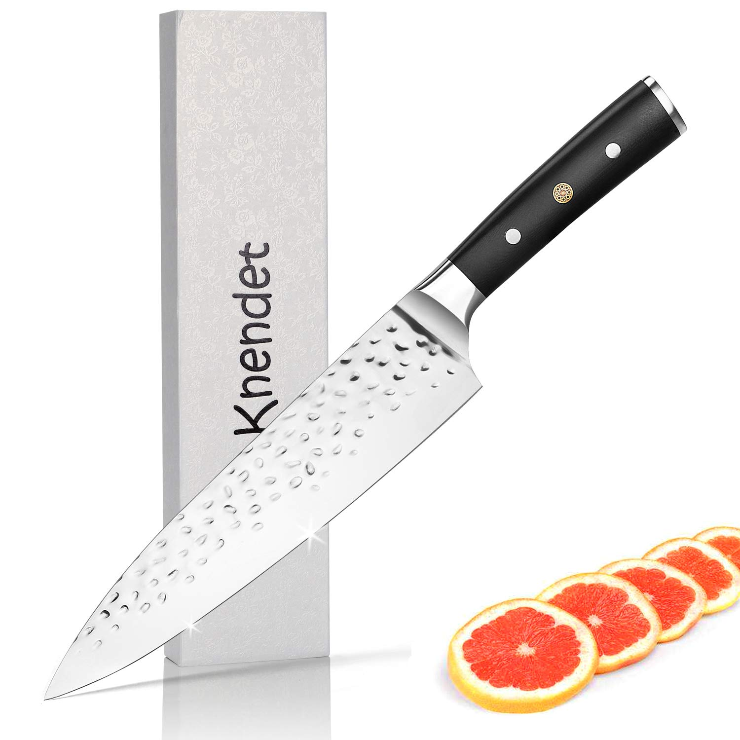 Chef Knife | Best Kitchen Knife for Home & Professional Cooking | 8 inch Chefs Knife stainless steel Blade | The Choice for Chopping-Slicing- Cutting Meats-Vegetables- Fruits