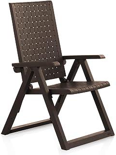 Keter - Silla reclinable de jardín exterior Montreal, Color ...