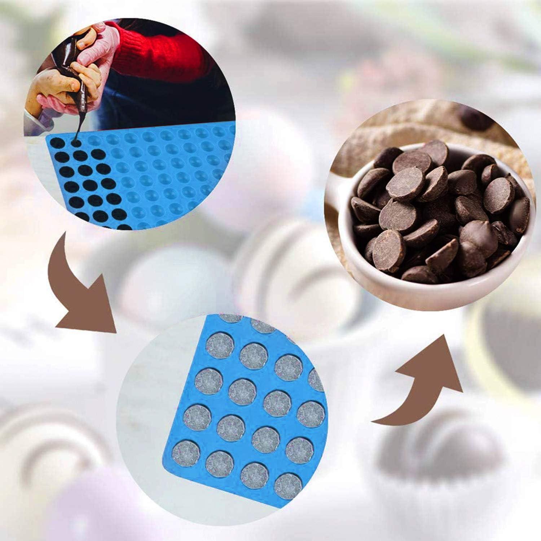 BPA-frei Mehrzweck Wiederverwendbare Silikon Backform f/ür Hundekekse 2 St/ück 2cm Halbkugel Silikonform Silikonmatte 38,5x27cm Hundeleckerlies Hitzebest/ändig 240/°C Pralinenform Silikon Backmatte