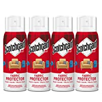 Deals on Scotchgard Fabric & Upholstery Protector, 4 Cans/10-Ounces
