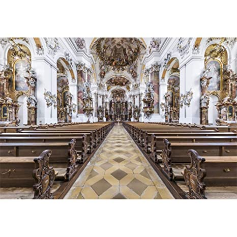 Iglesia fondo interior