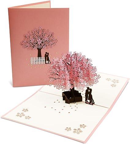 Tarjeta de felicitación Vegena en 3D, tarjeta de felicitación de ...
