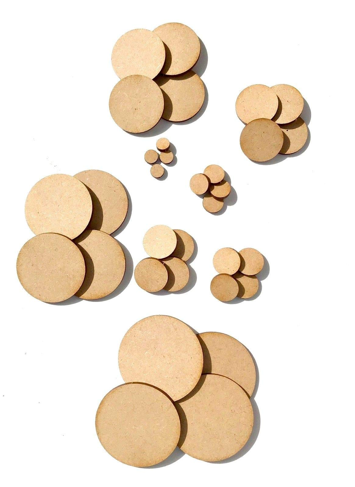 6pc MDF 0.5 inch Thick Light Weight Round Medium Density Fiberboard 36''. Click add to cart Now Buy it Today!