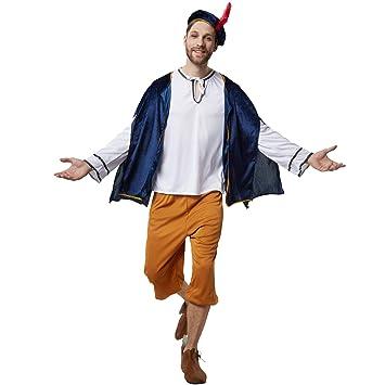 dressforfun 900529- Disfraz de Hombre Heraldo Cortesano ...