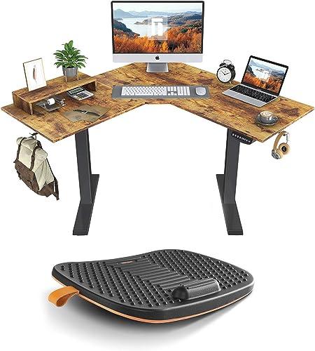 FEZIBO L-Shaped Standing Desk