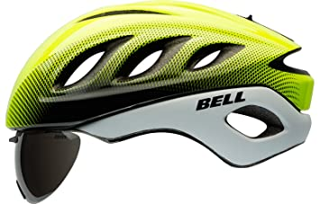 d2fbb432 Image Unavailable. Image not available for. Colour: Retina Sear/White Blur  , Large : Bell Star Pro Shield Helmet