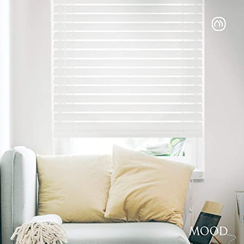 Mood Faux Wood Blinds 82.5 inch Blind