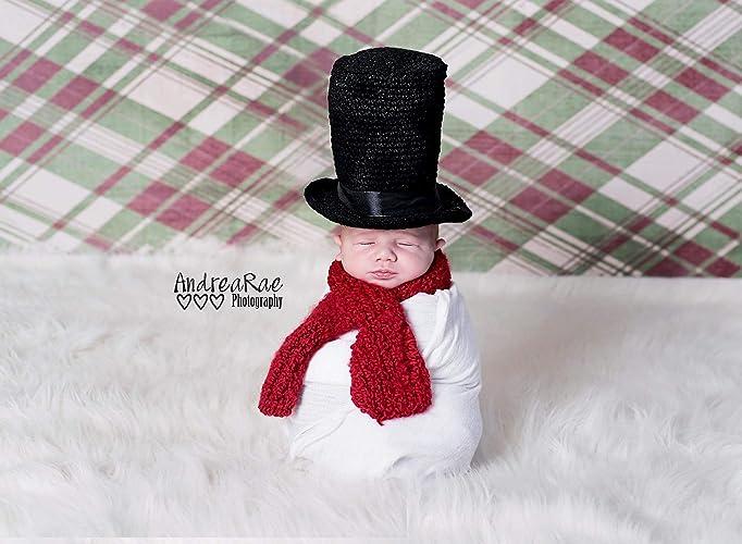 64291b97aa79b Amazon.com  Snowman Top Hat And Scarf Costume