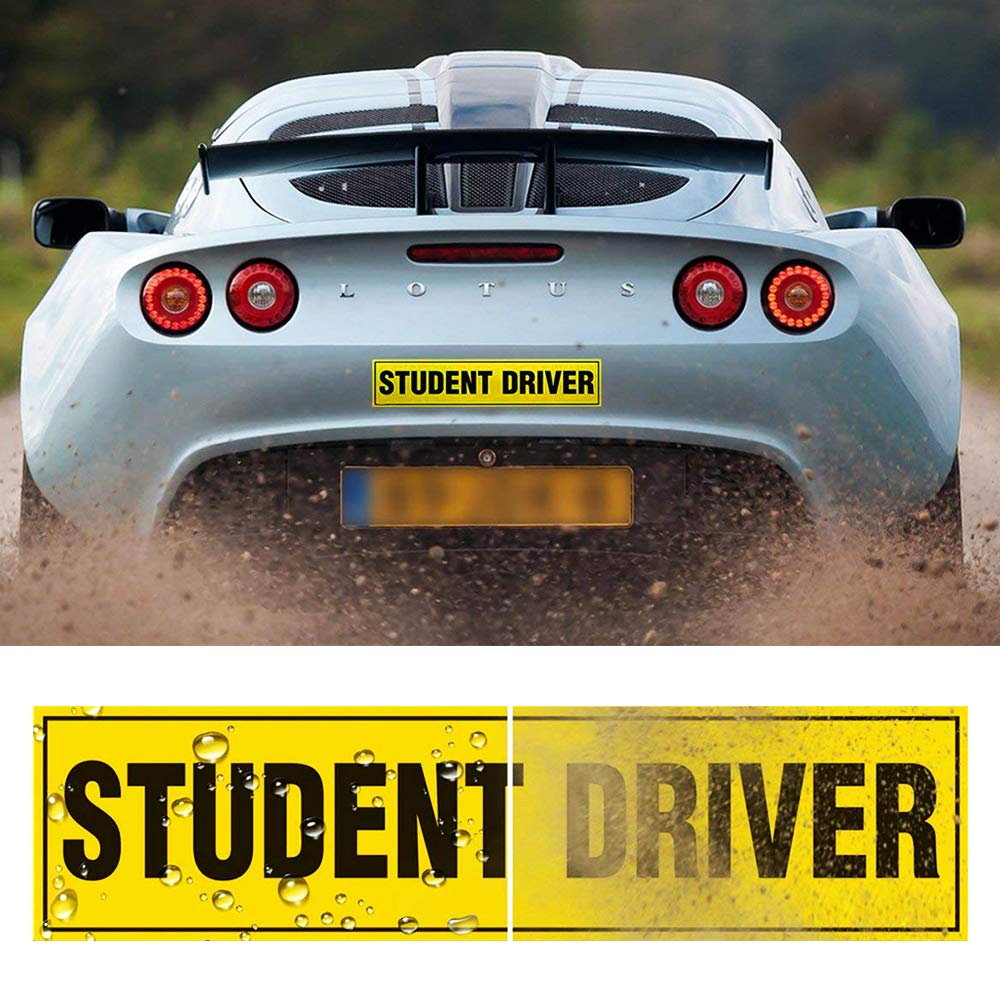 Set of 3 Student Driver Magnet...