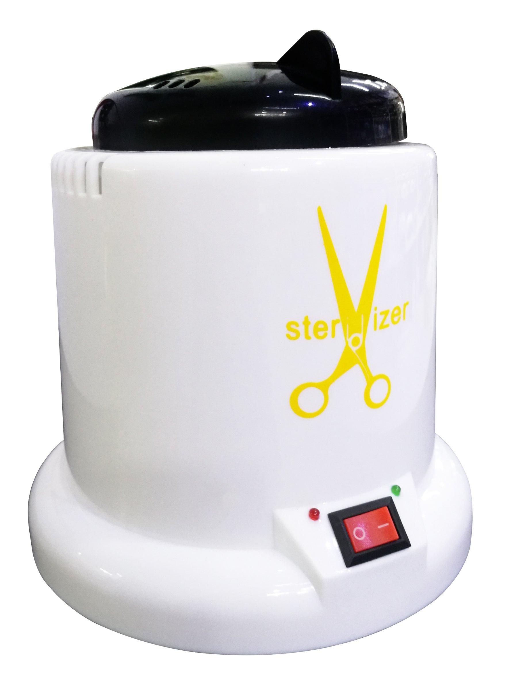 Crisnails® Esterilizador de 100W con Bolas de Cuarzo, Instrumento Desinfección y Limpieza a 250