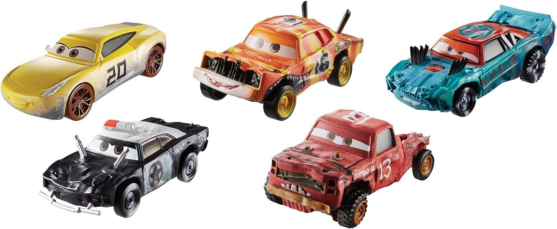 Disney Cars Thunder Hollow Pack de 5 vehículos, coches de juguete (Mattel GDD13): Amazon.es: Juguetes y juegos