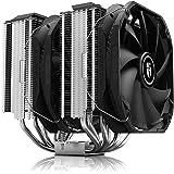 DEEPCOOL Assassin III Air CPU Cooler, 7 Heatpipes, Dual 140mm Fans, 54mm RAM Clearance, 280W TDP, New Sinter Heatpipe Technol