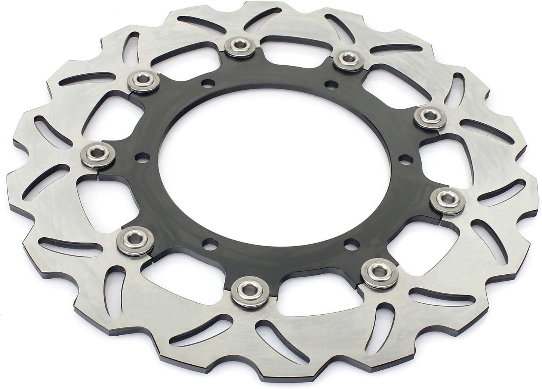 TARAZON Front Rear Brake Rotor Disc for Yamaha XVS 1100 V-Star Classic Silverado 2003-2009 04 05 06 07 08
