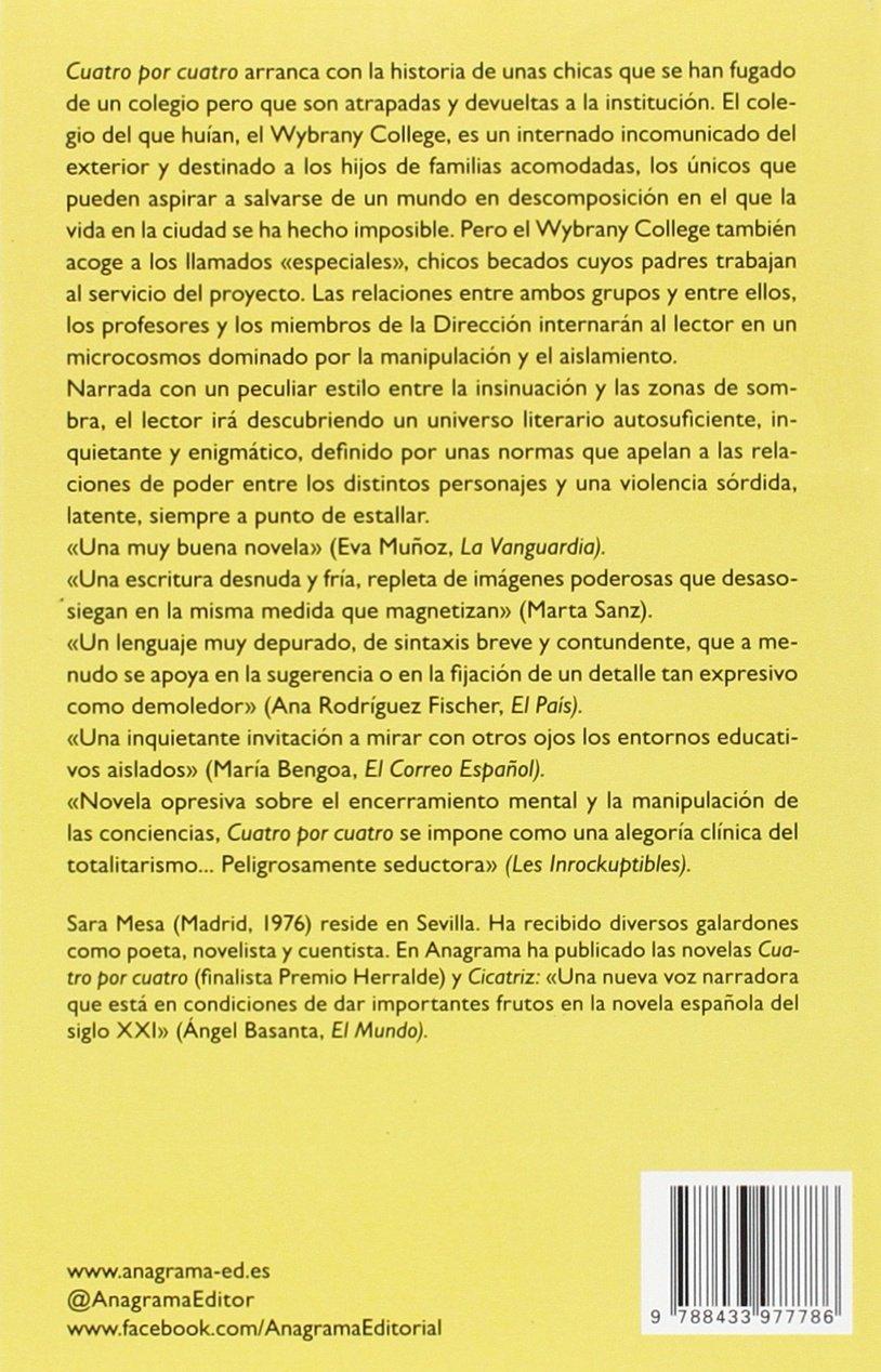 Cuatro por cuatro (Compactos): Amazon.es: Mesa, Sara: Libros