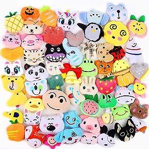 CXTSMSKT Mini Plush Toys Random 20 Pcs Animal Stuffed Toys for Kids Party Favors