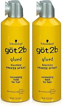2-Pack GOT 2B Glued Blasting Freeze Spray 12 Oz