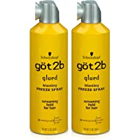 Got2B Glued Blasting Freeze Hairspray, 12 Ounce (Pack of 2)