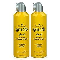 Got2B Glued Blasting Freeze Hairspray, 12 Ounce (Pack of 2)