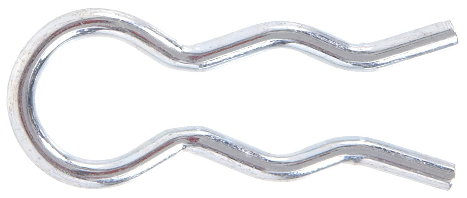 The Hillman Group 3678 3 16 Inch External Hair Pin Clip Zinc Plated 25 Pack