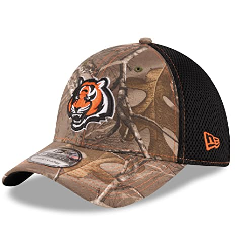 wholesale dealer ad82f 16314 ... usa cincinnati bengals real tree neo 39thirty flex fit hat cap small  medium bf450 24e68