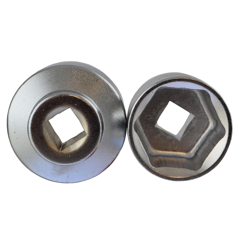 /38/mm Lot de 5 pi/èces AN136 outil pour retirer les douilles de Filtre /à huile//outil de d/émontage// type de 24/mm/