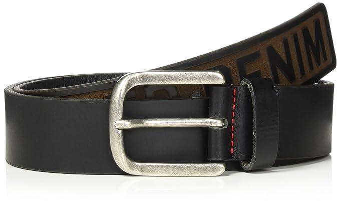 Tommy Jeans Homme Hilfiger Denim 4.0Cm Ceinture  Amazon.fr  Vêtements et  accessoires 789007980e6