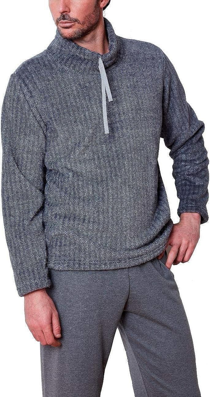 Pijama Hombre coralina y algodón: Amazon.es: Ropa y accesorios