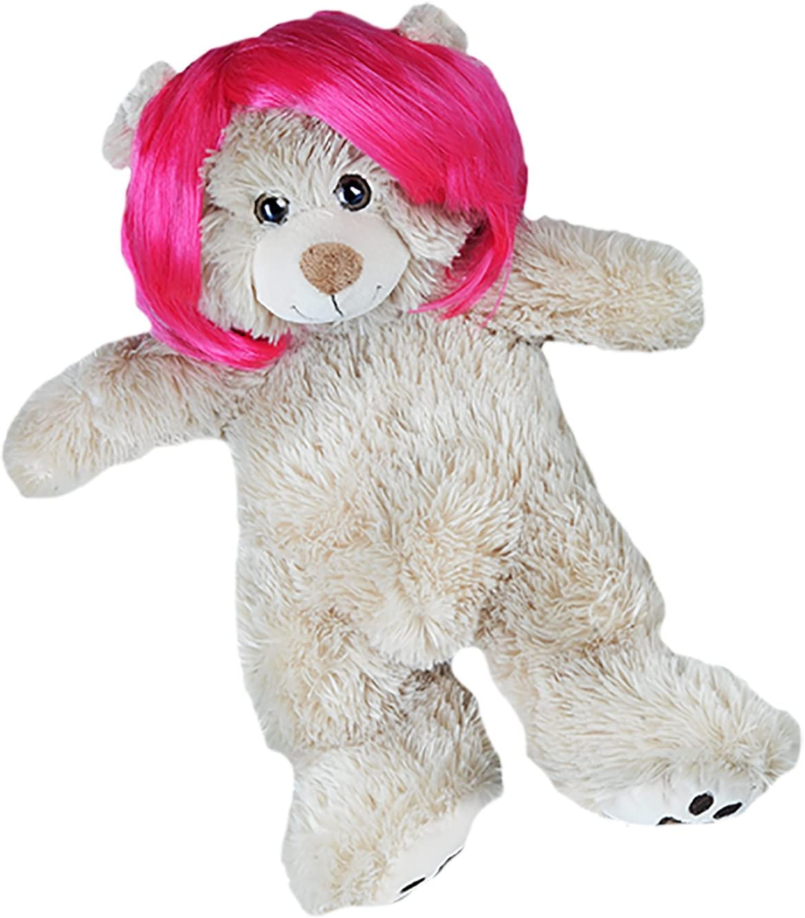 """18/"""" Build-a-bear and Make Your Own Stuffed Short Bob Purple Wig Fits Most 14/"""""""