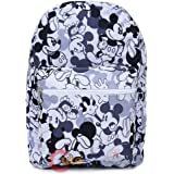 Disney Mickey Mouse Large School Backpack All Over Prints Bag -Mono color