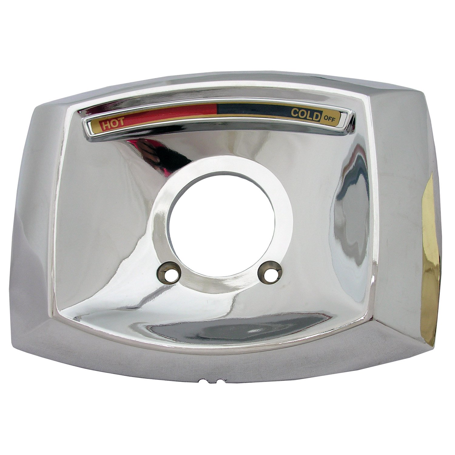 Simpatico 31644C Delta Rectangle Shaped Shower Escutcheon Only For Shower  Valve, Chrome Plated     Amazon.com