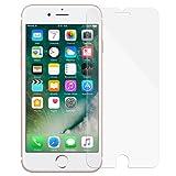 美国MoKo 苹果iPhone 8钢化膜 iPhone7弧边钢化玻璃保护膜 苹果8高清高透抗蓝光贴膜 9H硬度防刮防指纹手机膜 适用于Apple iPhone 7 / iPhone 8 (2017版) 4.7英寸手机贴膜 透明