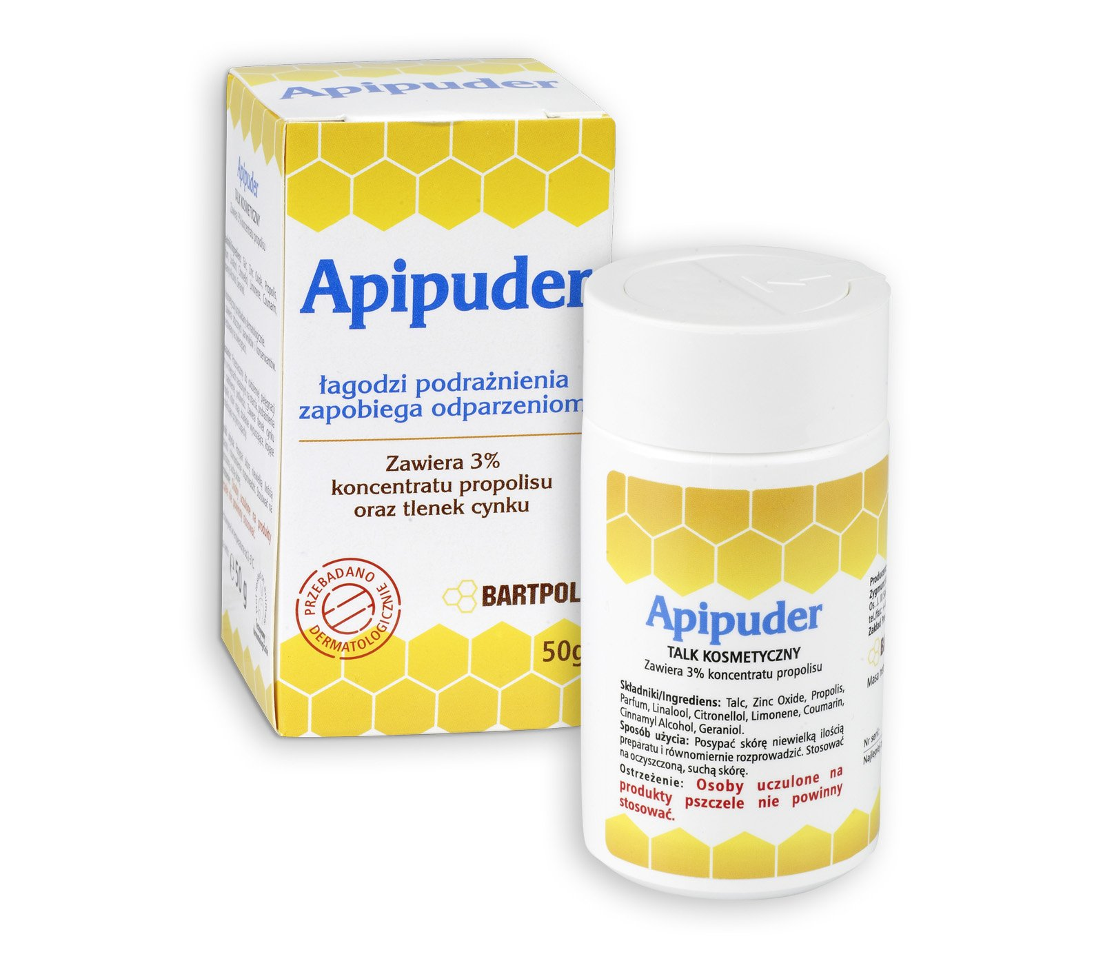 APIPUDER - Propolis Dermatologist Talk for external use 50 g