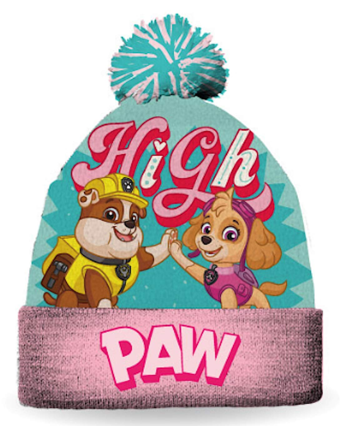 Paw Patrol Girls Winter Hat Size Size 4-6x Gertex