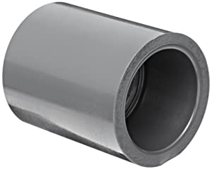 """Spears 829 Series PVC Pipe Fitting, Coupling, Schedule 80, 1/2"""" Socket"""