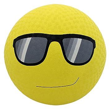 Baden goma gafas de sol Emoji Parque infantil Pelota, 8.5 ...