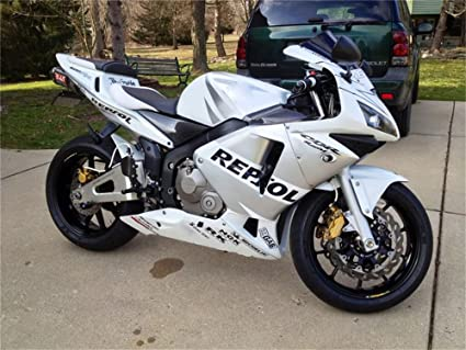 Amazoncom 2003 2004 Fit For Honda Cbr600rr Injection Mold Fairings