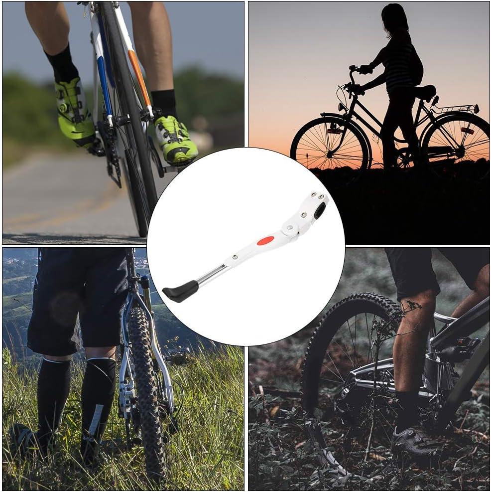 VIFER Kickstand Aluminium Alloy Adjustable Bike Bicycle Side Kickstand Parking Stand Support Foot