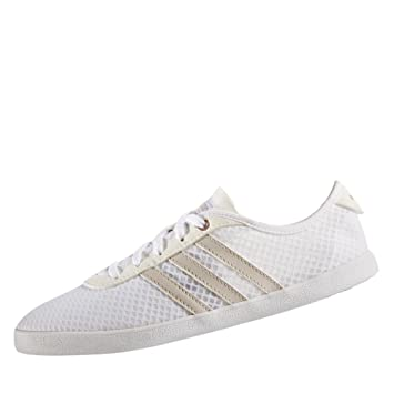 online store 68174 660d3 adidas CF Qt Vulc Sea w Women Sneakers, White - (ftwblaGripergrmeva) 36  23 Amazon.co.uk Sports  Outdoors