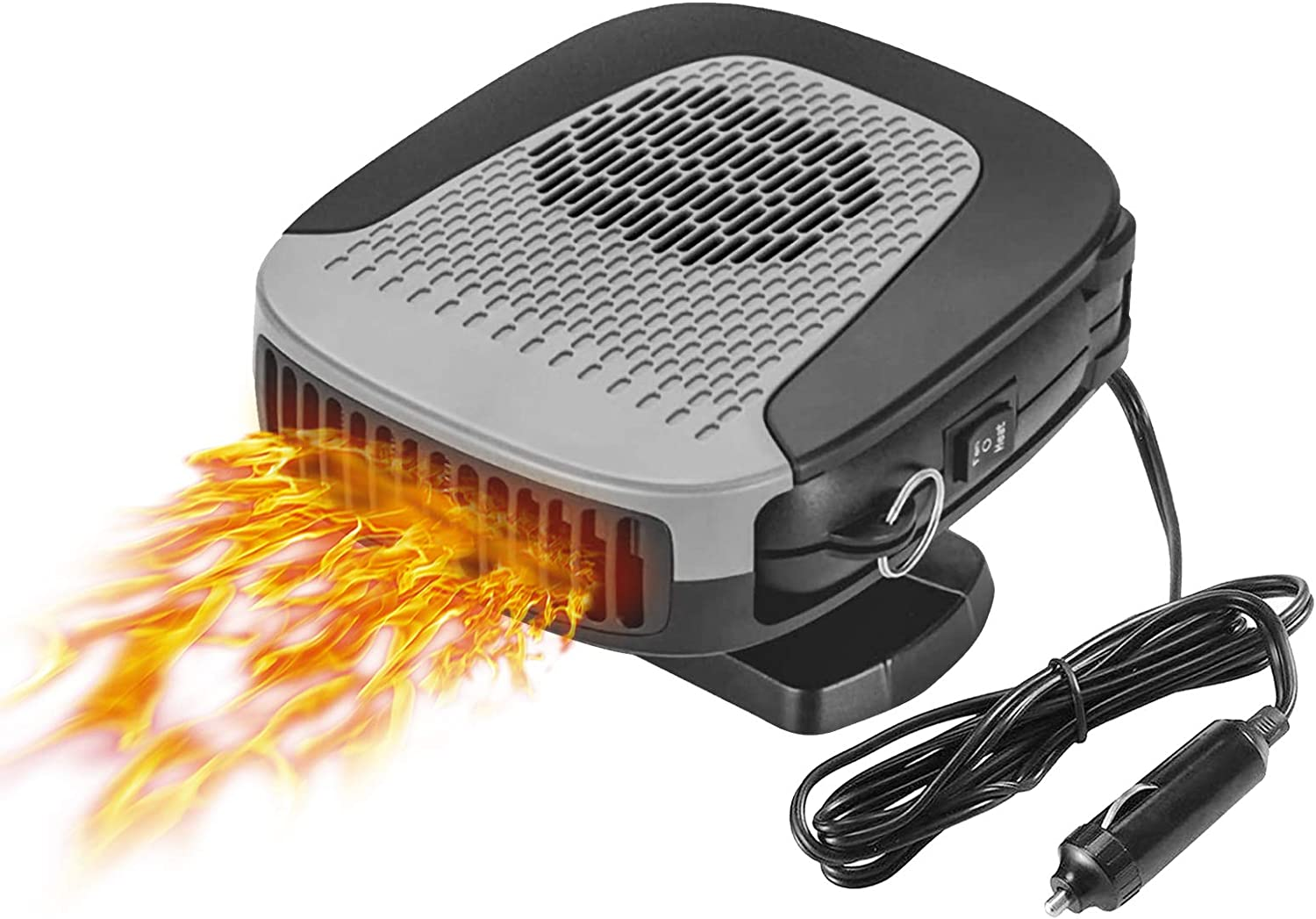 Birthday Gift - Car Heater, 12V 150W Car Heater 2 in 1 Heating Fan Defroster Demister Car Amplifier Cooling Fans Automotive Replacement Heater for Car SUV Truck Rv Trailer