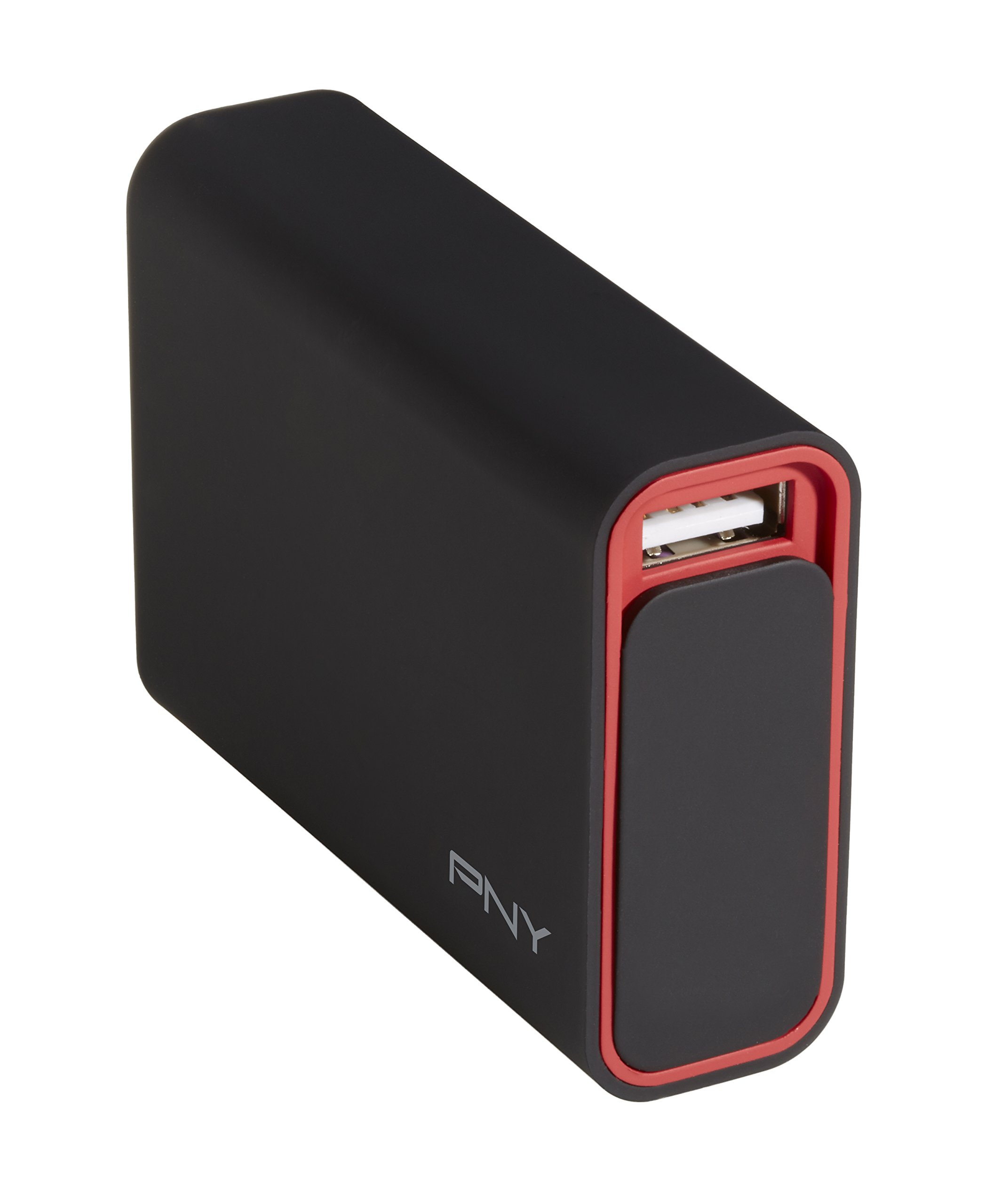 PNY CT5200 5200mAh 1 Amp PowerPack - Universal Portable Rechargeable Battery Charger for Apple iPhone, Samsung Galaxy, Nexus, HTC, Motorola, LG, BlackBerry, and other Android Smartphones by PNY (Image #2)