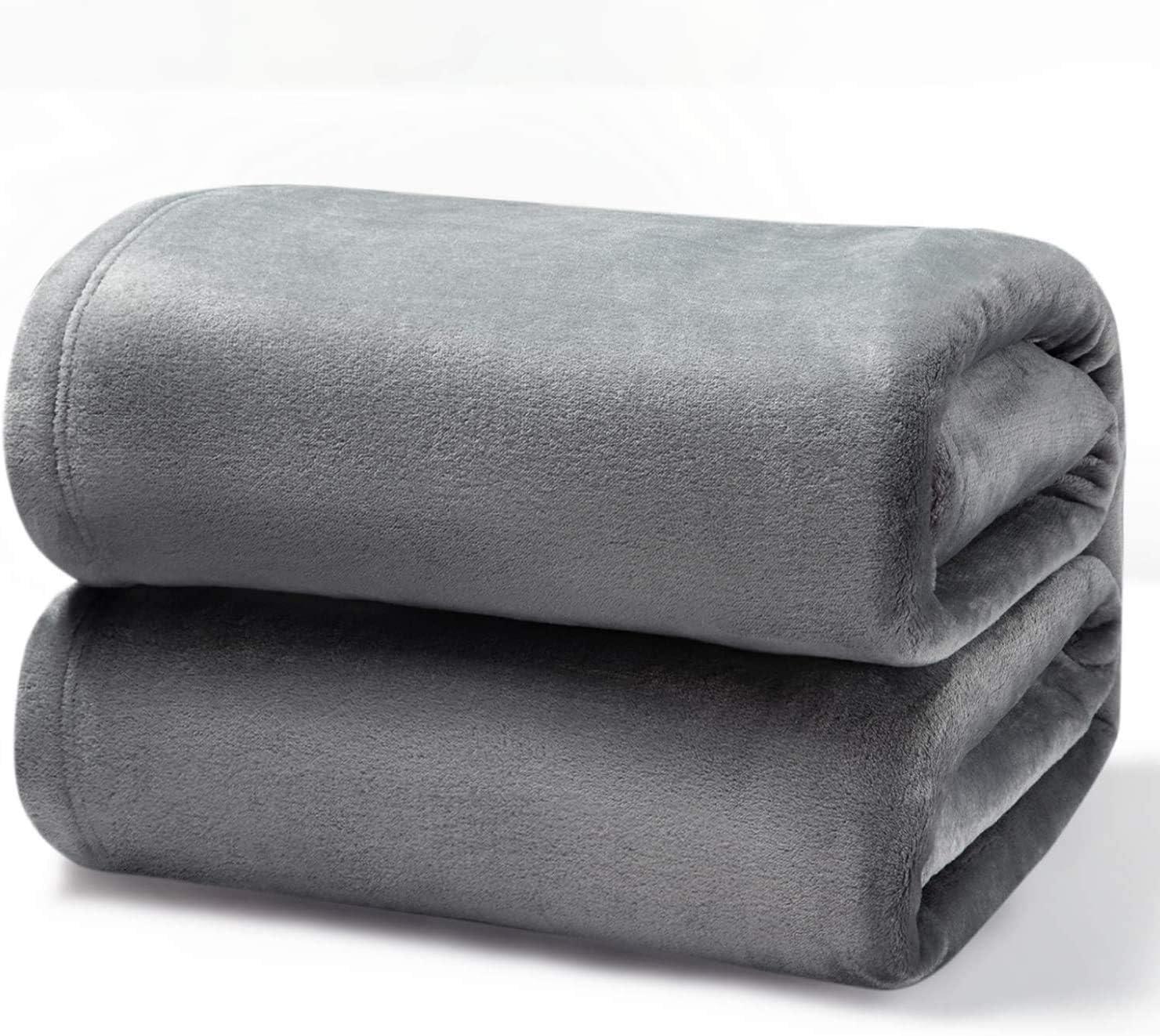 Ouneed 50*70cm pa/ño grueso y suave de franela manta alfombra de tiro sof/á cama Manta de franela Amarillo