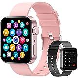 """Smartwatch, 1.72"""" Reloj Inteligente Hombre Mujer Pulsera Actividad, Reloj Inteligente Con Función de llamada Bluetooth y Sms"""