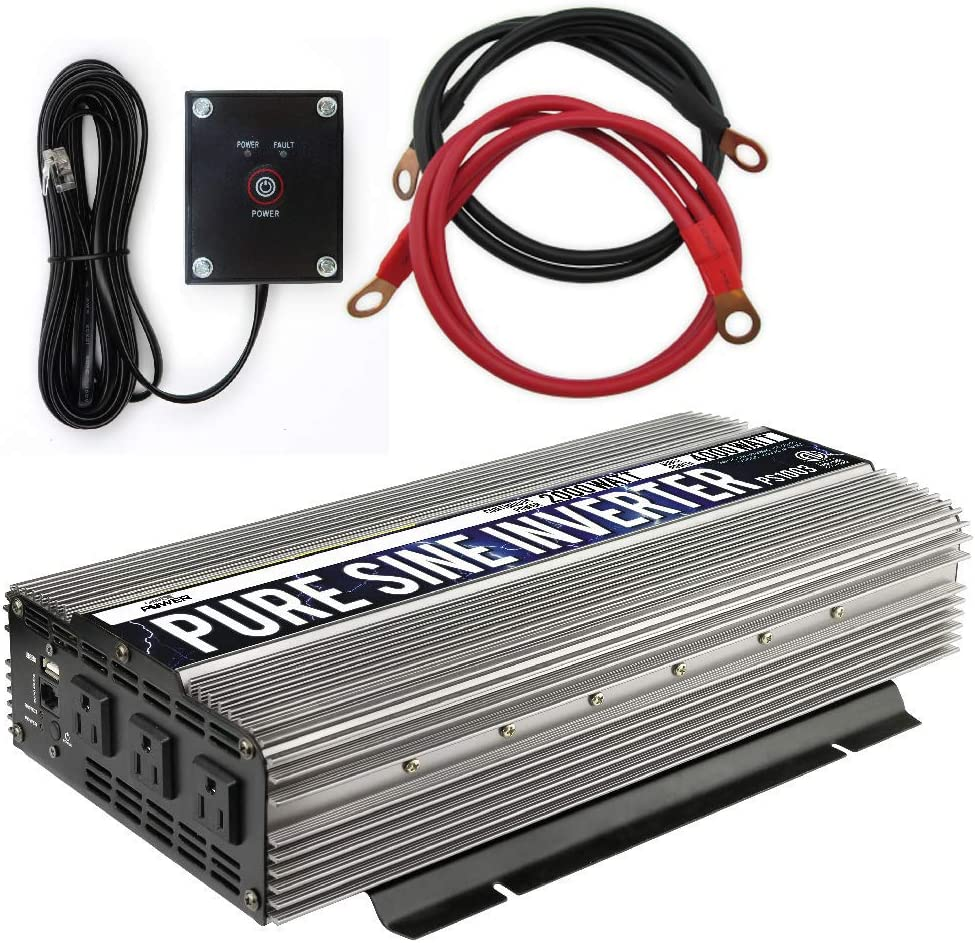 2000 Watt Pure Sine Wave Inverter