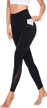 Voeons mallas de deporte cintura alta Mallas deportivas para mujer