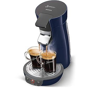 Senseo Viva Café HD7821/73 - Cafetera (Independiente, Máquina de café en cápsulas, 0,9 L, Dosis de café, 1450 W, Azul): Amazon.es: Hogar