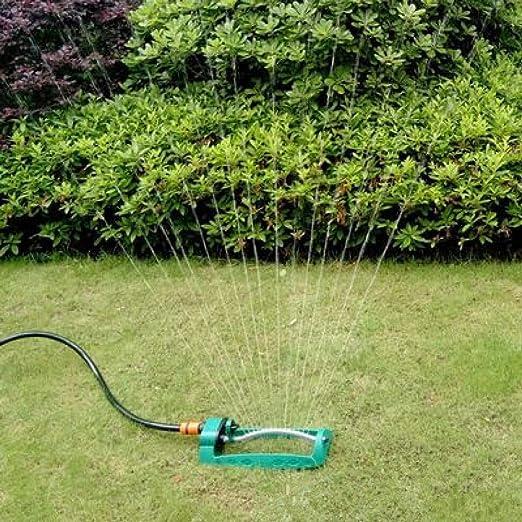 Aspersores de jardín, aspersores de jardín automáticos, boquillas limpiables únicas, múltiples ajustables, fáciles de configurar y lo suficientemente fuertes como para durar un tamaño: Amazon.es: Jardín