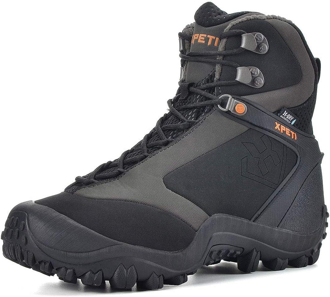Manfen Men s Ridge 8 Waterproof Hiking Boots Trekking Trails Boot